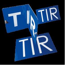 Placi, placi pliabile sau autocolante pentru TIR