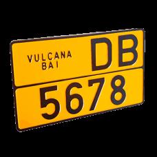 Placi de inregistrare vehicule, Certificat de inregistrare