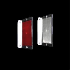 Placutele reflectorizante cu catadioptri simpla fata pentru parapet din beton