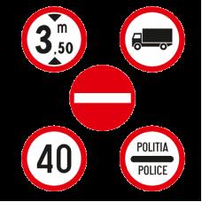 Indicatoare rutiere circulare