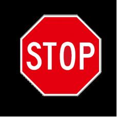 Indicatoare rutiere octogonale
