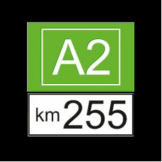Indicatoare kilometrice pentru autostrazi