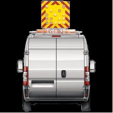 Echipamente de semnalizare rabatabile pentru autovehicule lucrari