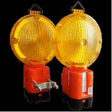 Lampi de semnalizare cu lumina intermitenta si sursa proprie