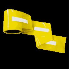 Banda delimitare galbena cu folie flexibila reflectorizanta