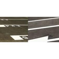 Executie marcaje rutiere cu sisteme bicomponente