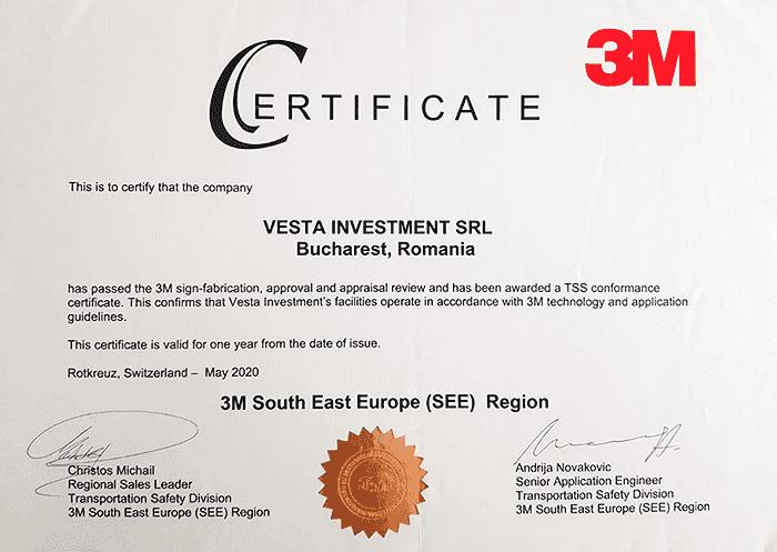 3M Certificat
